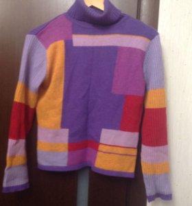 Тёплые водолазки, свитера р.44-46