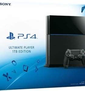 SonyPlayStation 4 (1тб) + 2 игры