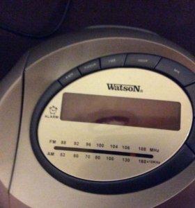 Часы проекционные с радио