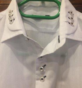 Стильные рубашки на мальчика