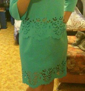 Новые Юбка+блузка