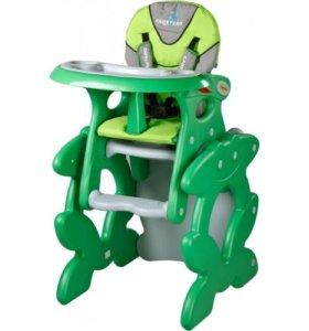Стульчик Caretero Primus,  зеленый, доставка