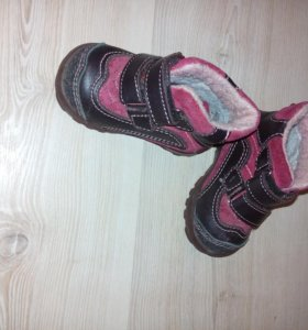 ботинки на осень.  19 размер.