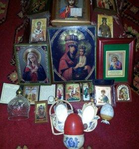 Иконы ( Русские и из Израиля)