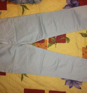 Голубо-серые штаны
