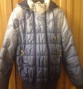 Куртка для беременных-Слингокуртка 3в1