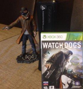 Xbox 360 250 Гб прошитый 8 игр