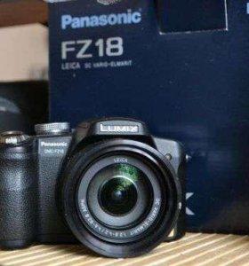 Продается фотоаппарат Lumix FZ-18