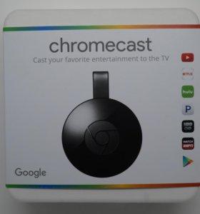 Беспроводной медиаплеер Google Chromecast 2015