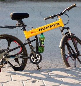 Велосипед HUMMER на литых дисках