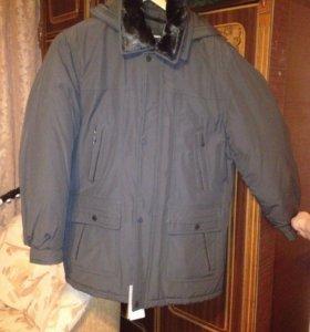 Зимняя куртка мужская новая.