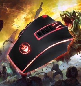 Мышь игровая reddragon 16400 точек/дюйм