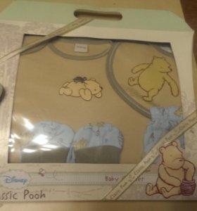 Новый подарочный комплект одежды для малыша Disney