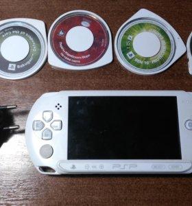 PSP +5 дисков и зарядка