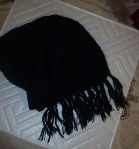 Комплект шарф + перчатки