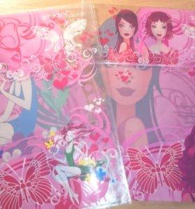 Обложки для тетради для девочек