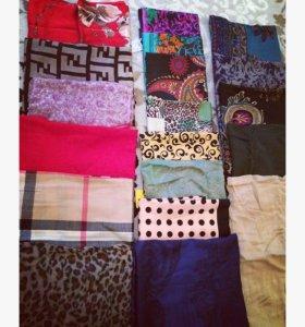 платки шарфы палантин