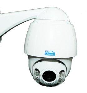 Сетевая купольная поворотная видеокамера