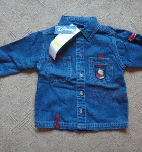 Новая рубашка джинс