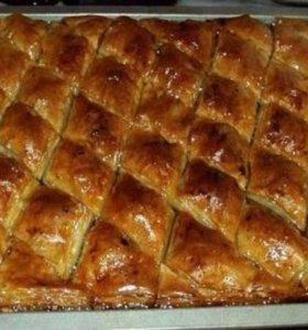 Пахлава сказочная с грецкими орехами
