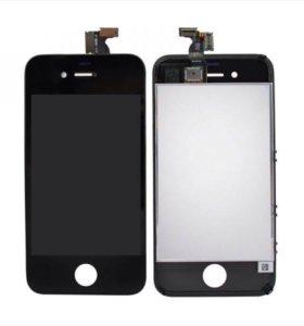 Дисплей iPhone 4/4s черный /белый