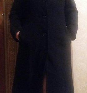 Пальто драповое демисезонное 2 шт.