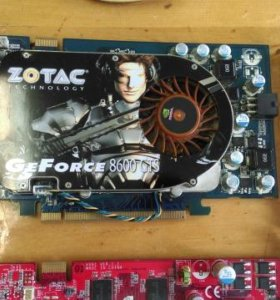 GeForce 8600GTS DDR3 10 штук