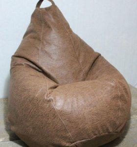 Кресло-груша из мебельной ткани