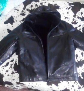 Куртка зимняя,новая,турция,эко кожа,торг