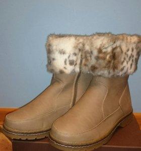 Новые зимние ботинки р.36-41