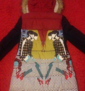 Пуховик женский, тёплая зимняя куртка
