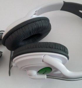 Гарнитура наушники с ммкрофоном для x-box 360