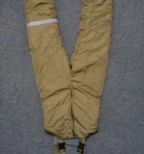 Очень теплые  штаны  (комбез)