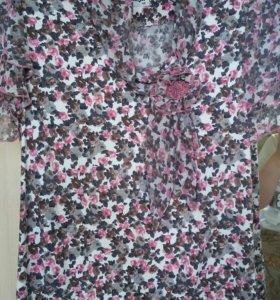 Две блузки размер 44-46-48