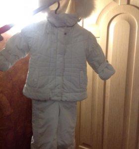 Комбинезон с курточкой для маленькой снегурочки!❄️