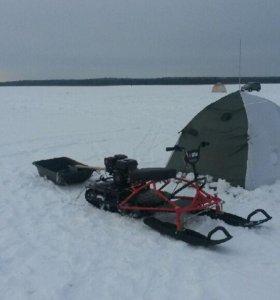 Мини снегоход Вьюга