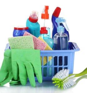 Уборка в доме и около дома