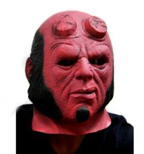 Силиконовая Маска Hellboy