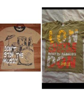 2(две)футболки за 100