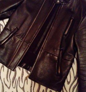 Calvin Klein оригинал куртка кожа