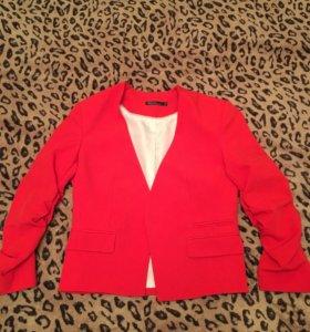 Пиджак красный Kira Plastinina ( НОВЫЙ)