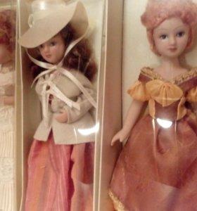 24 фарфоровые куклы