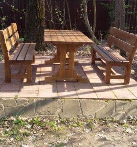 Мебель из дерева на заказ по индивидуальным размер