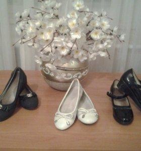 Обувь для девочки, состояние хорошее.