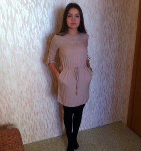 Платье в стиле casual