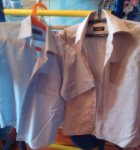 Рубашки для мальчика 7-8л