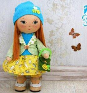 Интерьерная кукла. Игровая кукла.