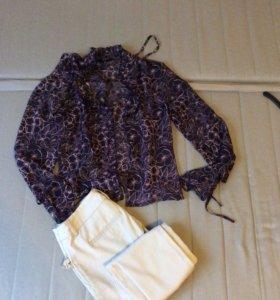 Комплект блузка и брюки