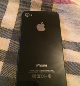 задняя крышка на iphone 4