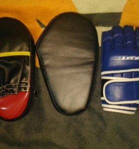 Кимано,лапы,перчатки